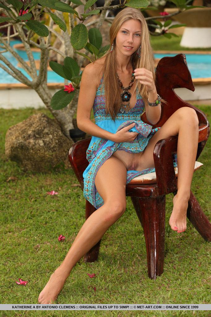 in naked heels Katherine slim